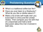 prelistening questions