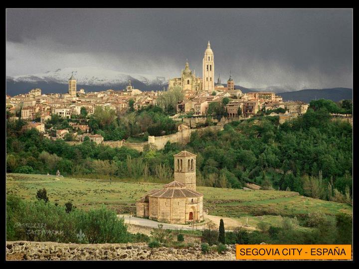 SEGOVIA CITY - ESPAÑA