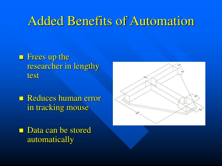 Added Benefits of Automation