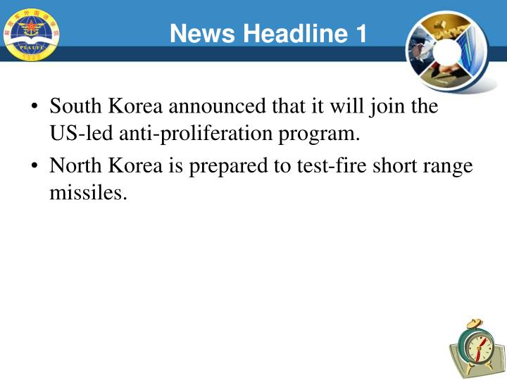 News Headline 1