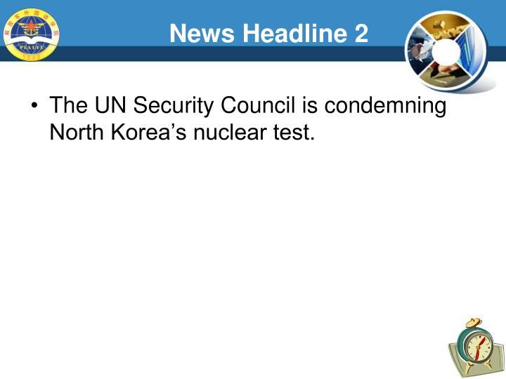 News Headline 2