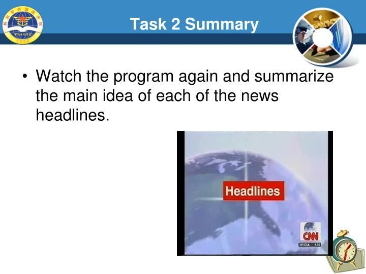 Task 2 Summary