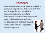 protokol