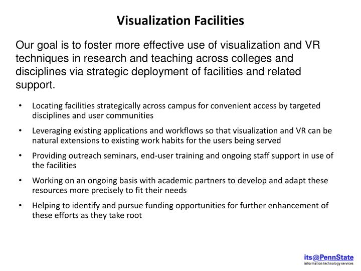 Visualization Facilities