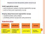 financov n region ln ho rozvoje