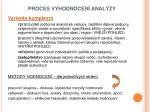 proces vyhodnocen anal zy1
