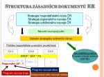 struktura z sadn ch dokument rr