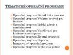 t matick opera n programy