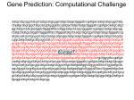 gene prediction computational challenge2