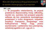 warunki eksploatacji dr g powiatowych w wietle obowi zuj cych przepis w10