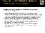 zadania i kompetencje inspekcji transportu drogowego5