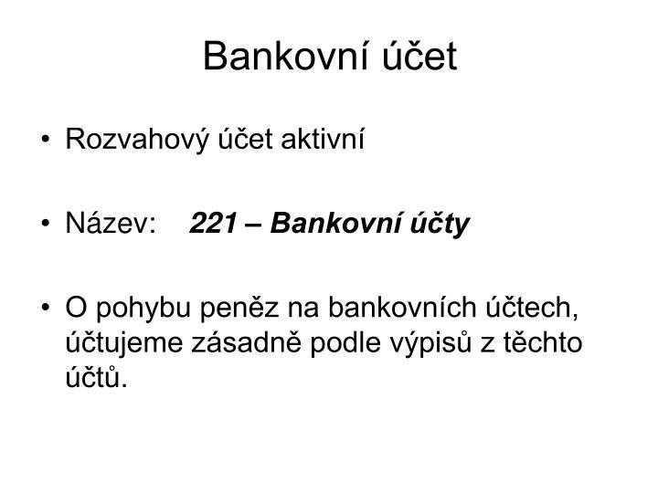 Bankovn et