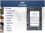 400 language