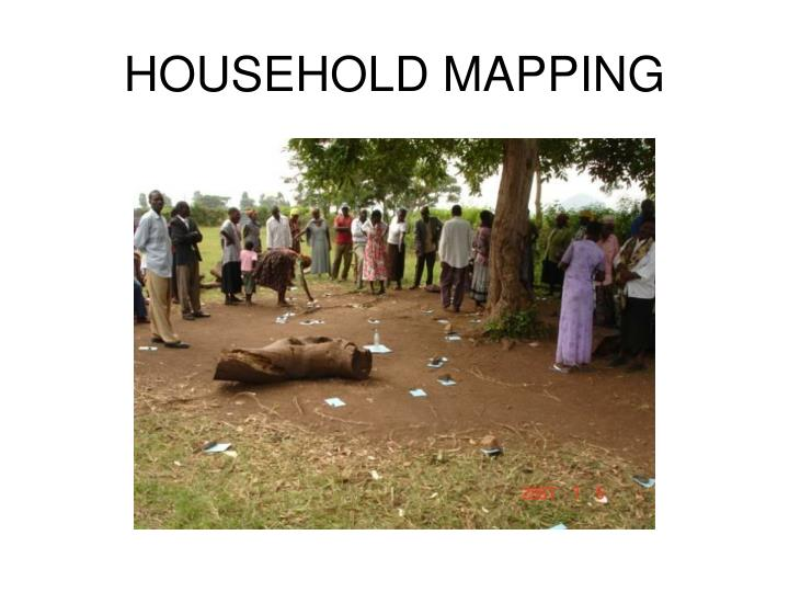 Household mapping