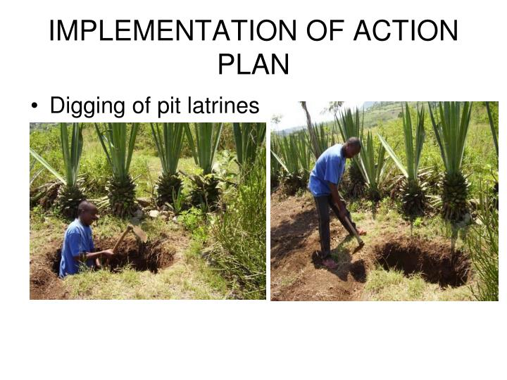 IMPLEMENTATION OF ACTION PLAN