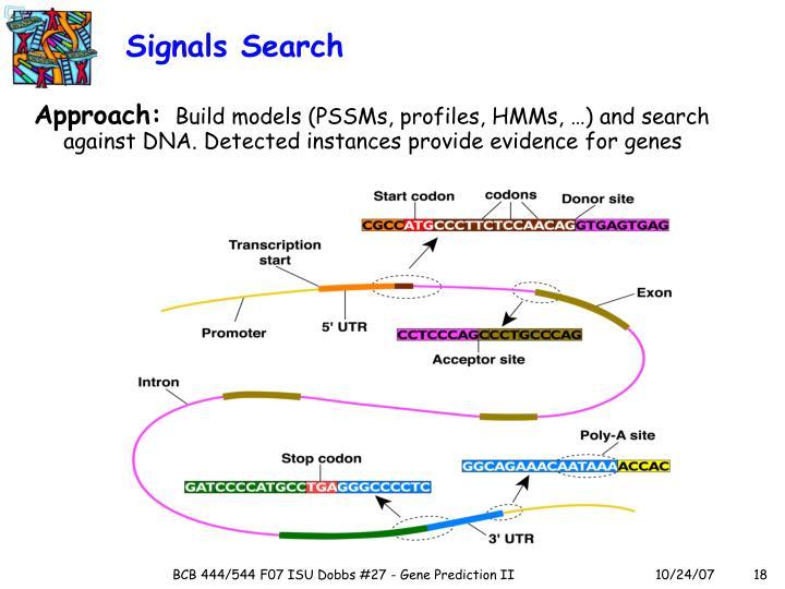 Signals Search