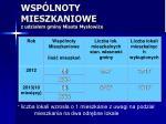 wsp lnoty mieszkaniowe z udzia em gminy miasta mys owice