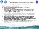 requirement on enhanced high quality long term wave measurements2