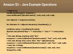 amazon s3 java example operations