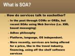 what is soa1