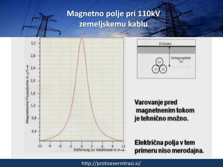 Magnetno polje pri 110kV