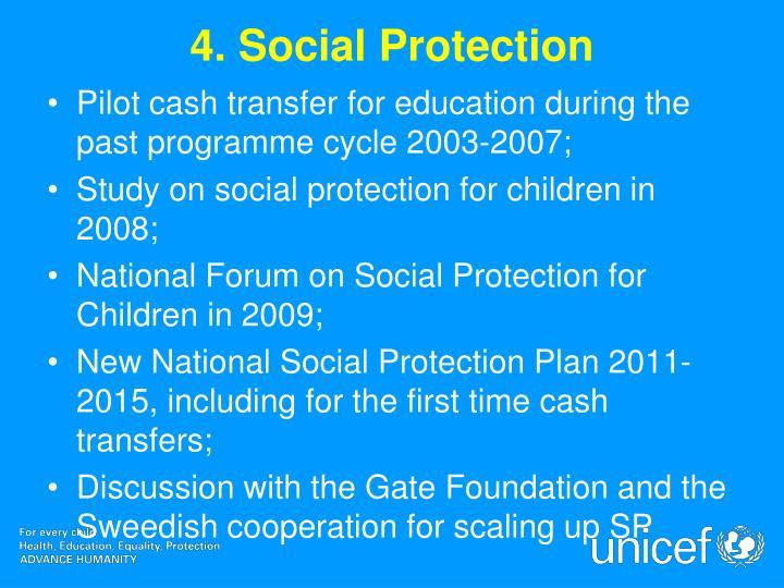 4. Social Protection