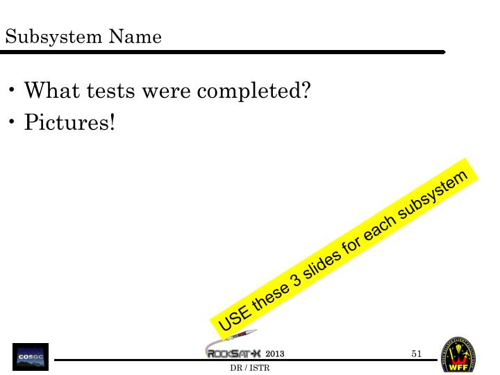 Subsystem Name