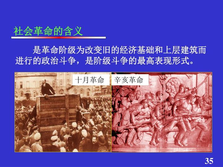 社会革命的含义