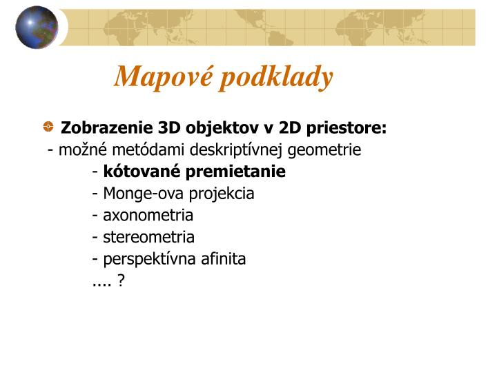 Mapov podklady1