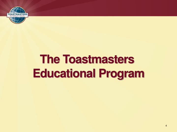 The Toastmasters