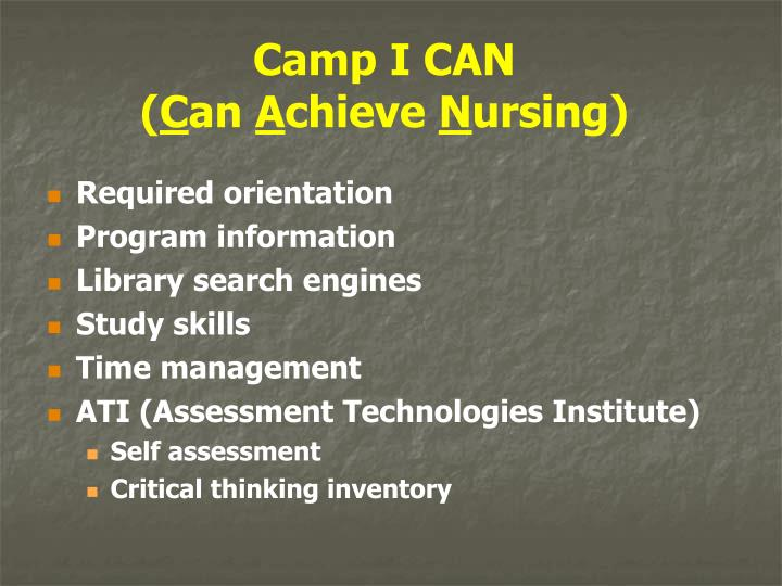 Camp I CAN