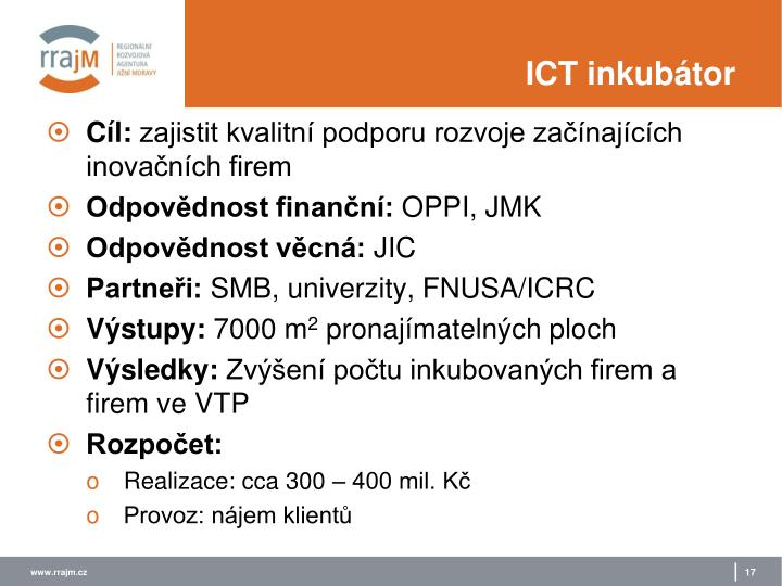 ICT inkubátor