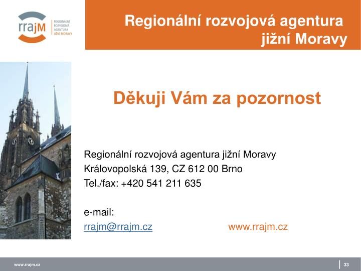 Regionální rozvojová agentura