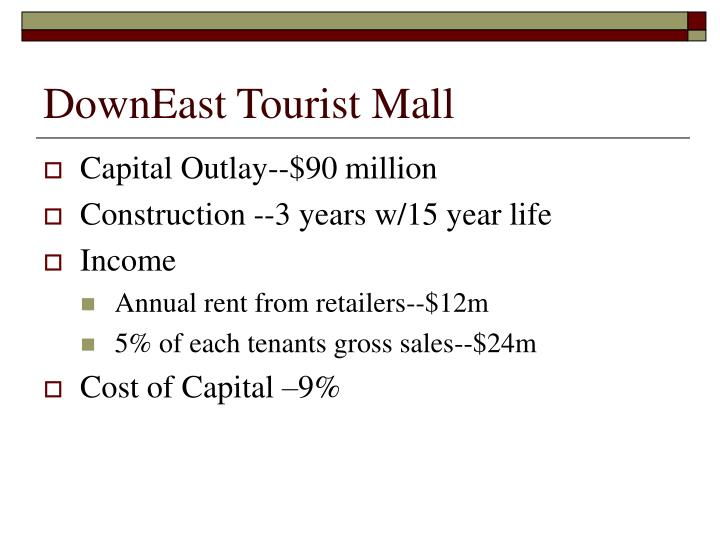 DownEast Tourist Mall