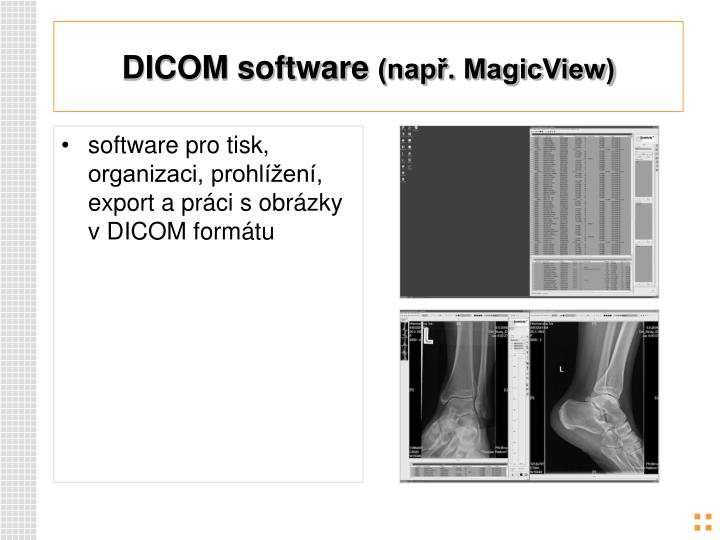 DICOM software