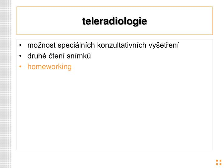 teleradiologie