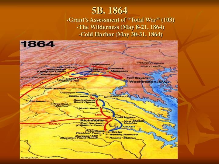 5B. 1864