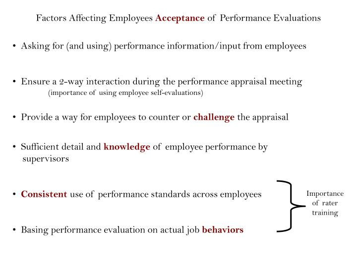 Factors Affecting Employees
