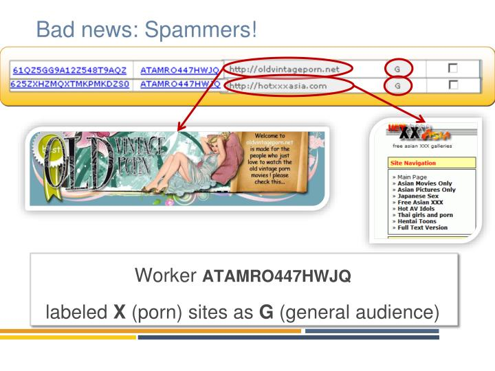 Bad news spammers
