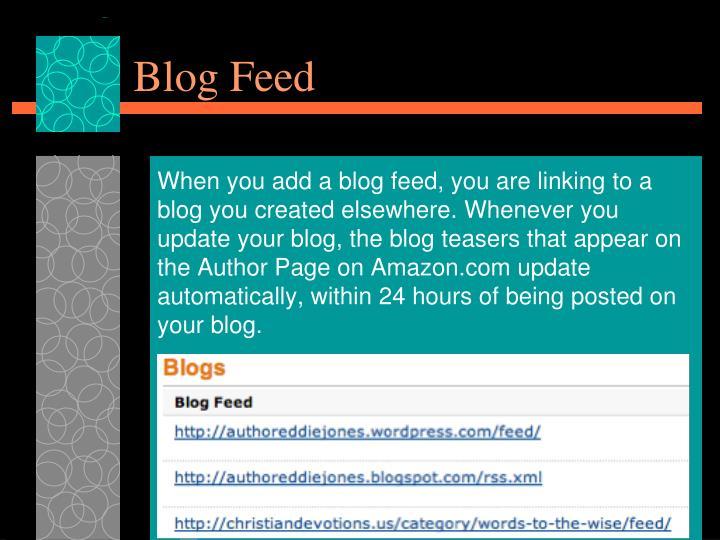 Blog Feed
