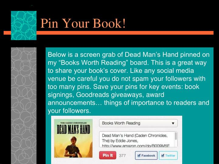 Pin Your Book!