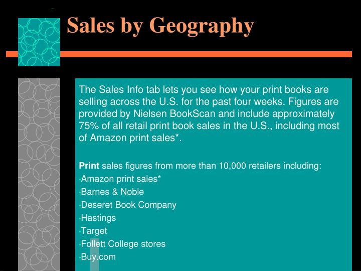 Sales by Geography