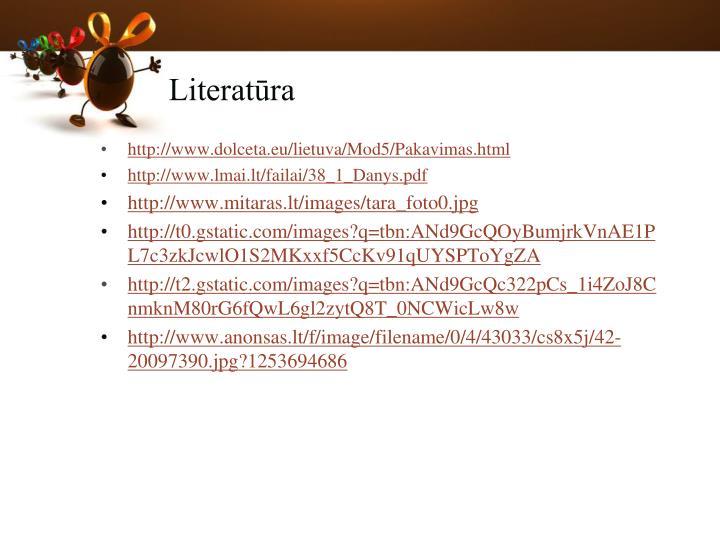 Literatūra
