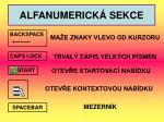 alfanumerick sekce1