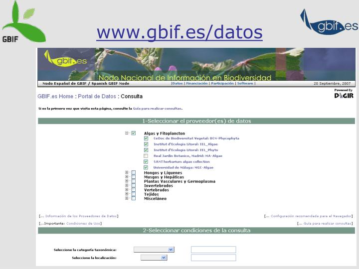 www.gbif.es/datos