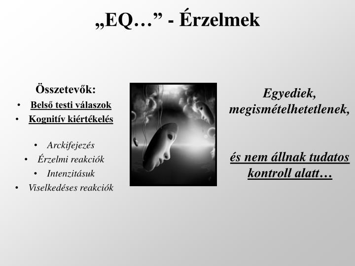 """""""EQ…"""" - Érzelmek"""