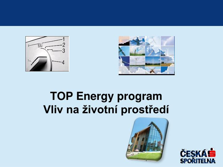 TOP Energy program