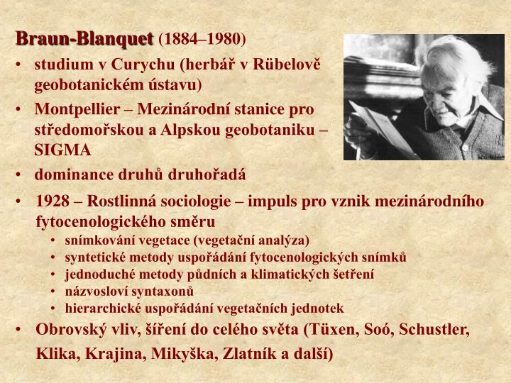 Braun-Blanquet