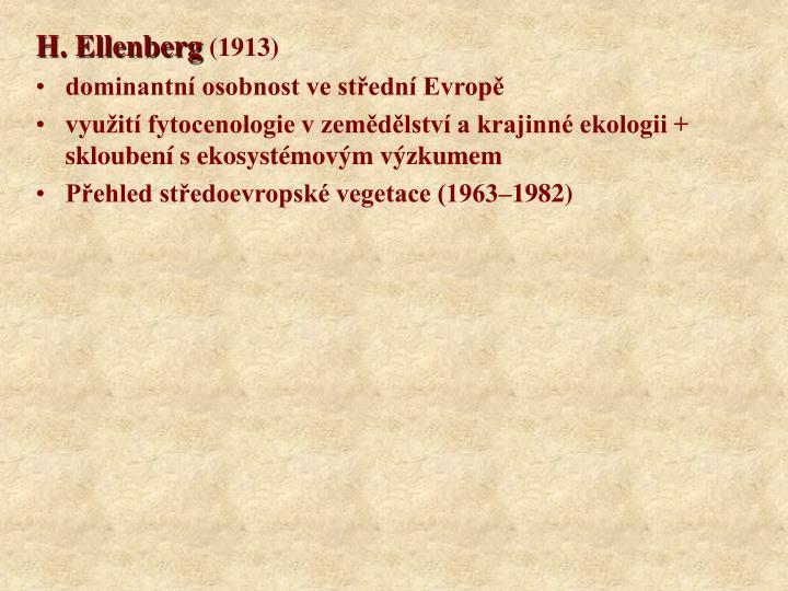 H. Ellenberg
