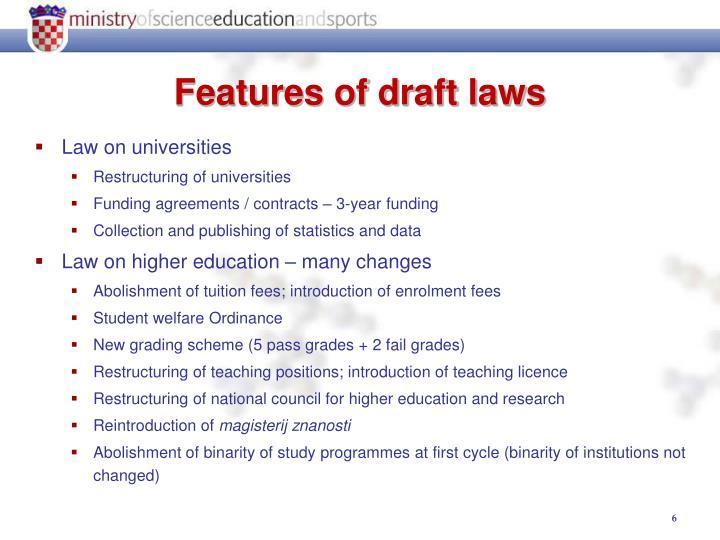 Law on universities